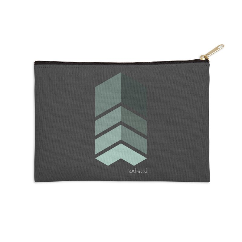 The Monolith Accessories Zip Pouch by iamthepod's Artist Shop