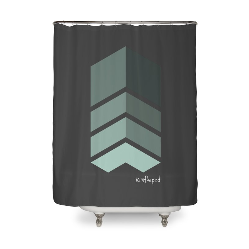 The Monolith Home Shower Curtain by iamthepod's Artist Shop