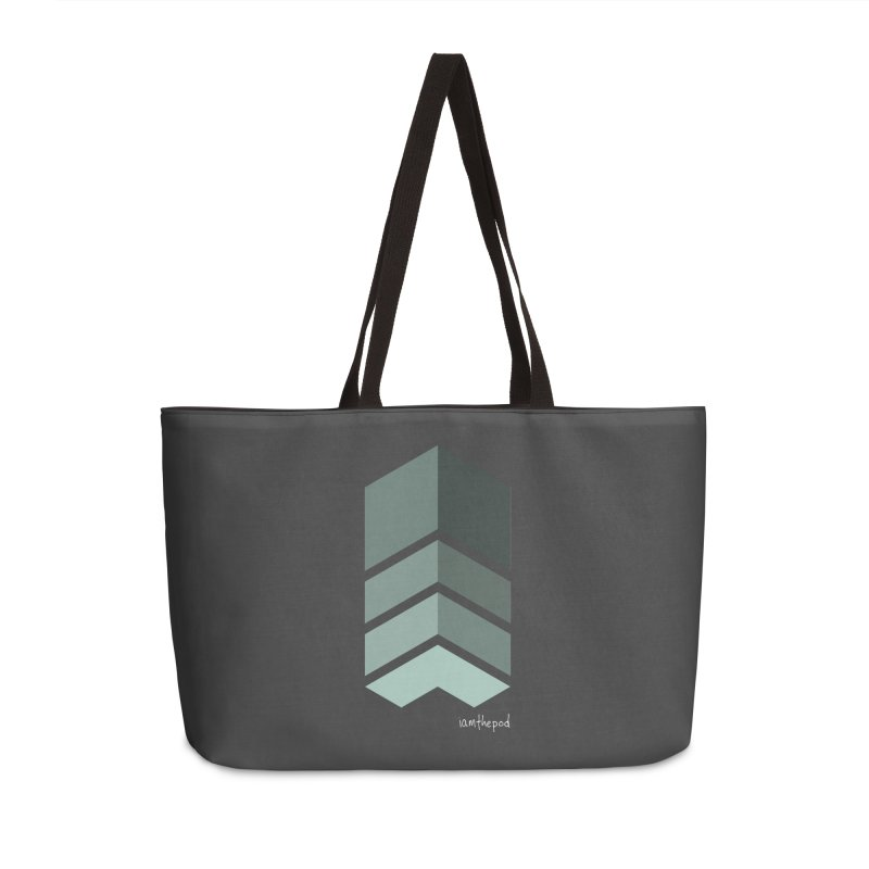 The Monolith Accessories Weekender Bag Bag by iamthepod's Artist Shop