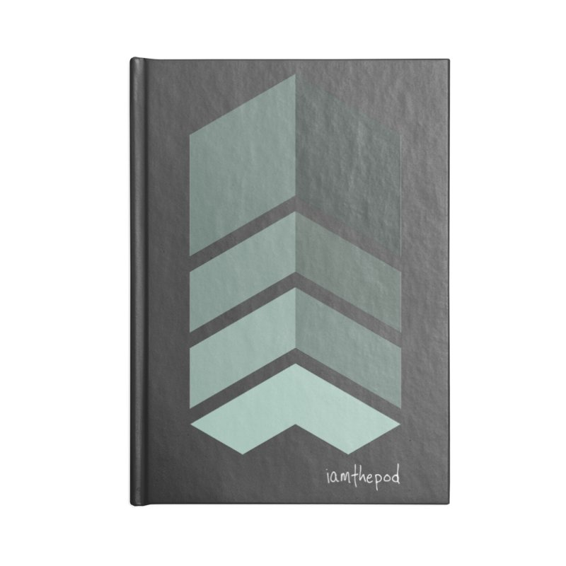 The Monolith Accessories Lined Journal Notebook by iamthepod's Artist Shop