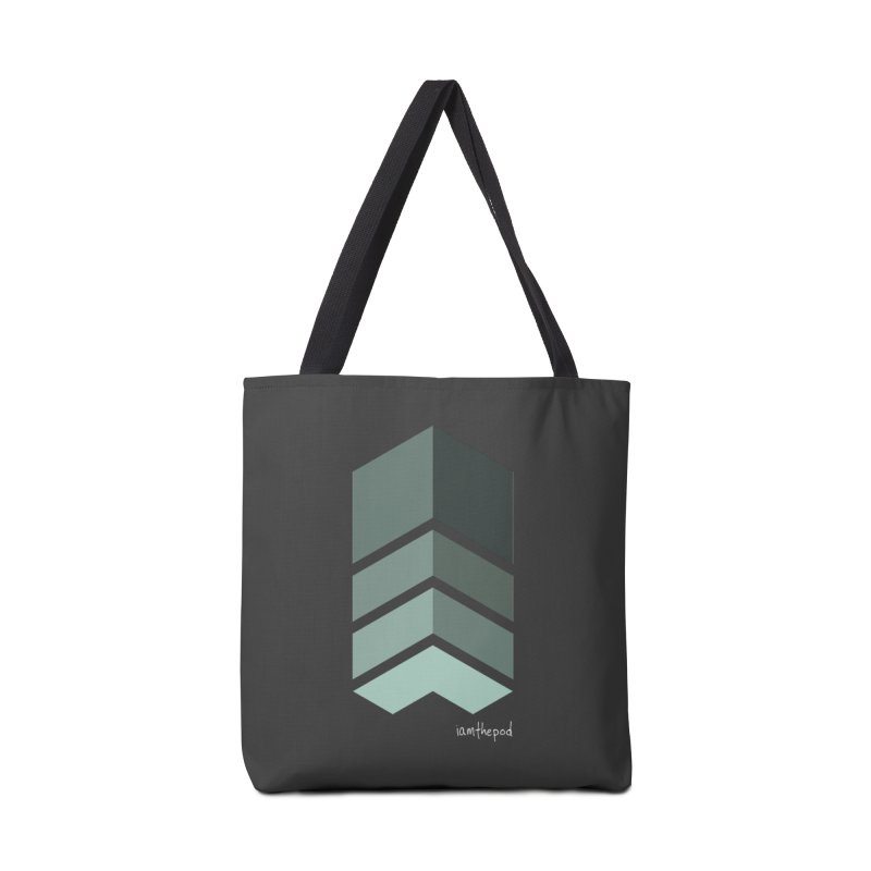 The Monolith Accessories Tote Bag Bag by iamthepod's Artist Shop