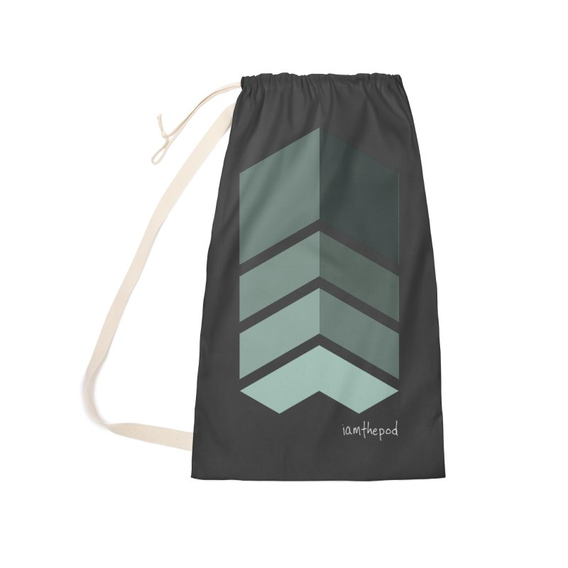 The Monolith Accessories Laundry Bag Bag by iamthepod's Artist Shop