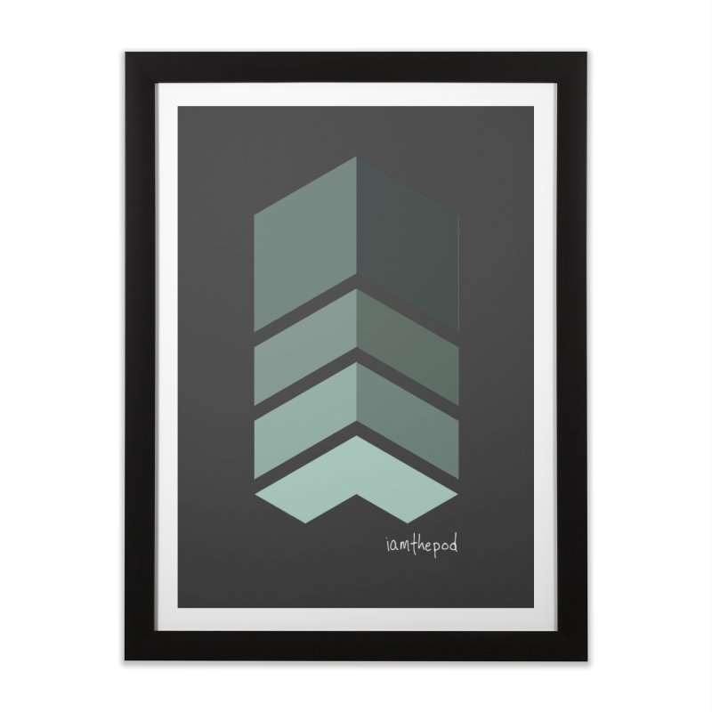 The Monolith Home Framed Fine Art Print by iamthepod's Artist Shop