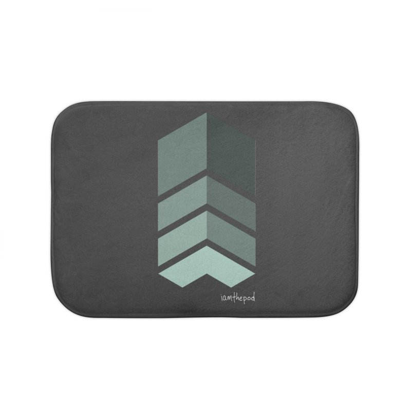 The Monolith Home Bath Mat by iamthepod's Artist Shop