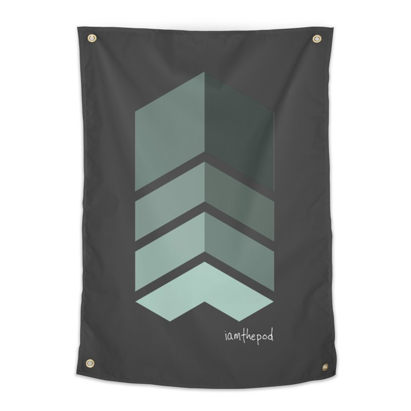 The Monolith Home Tapestry by iamthepod's Artist Shop