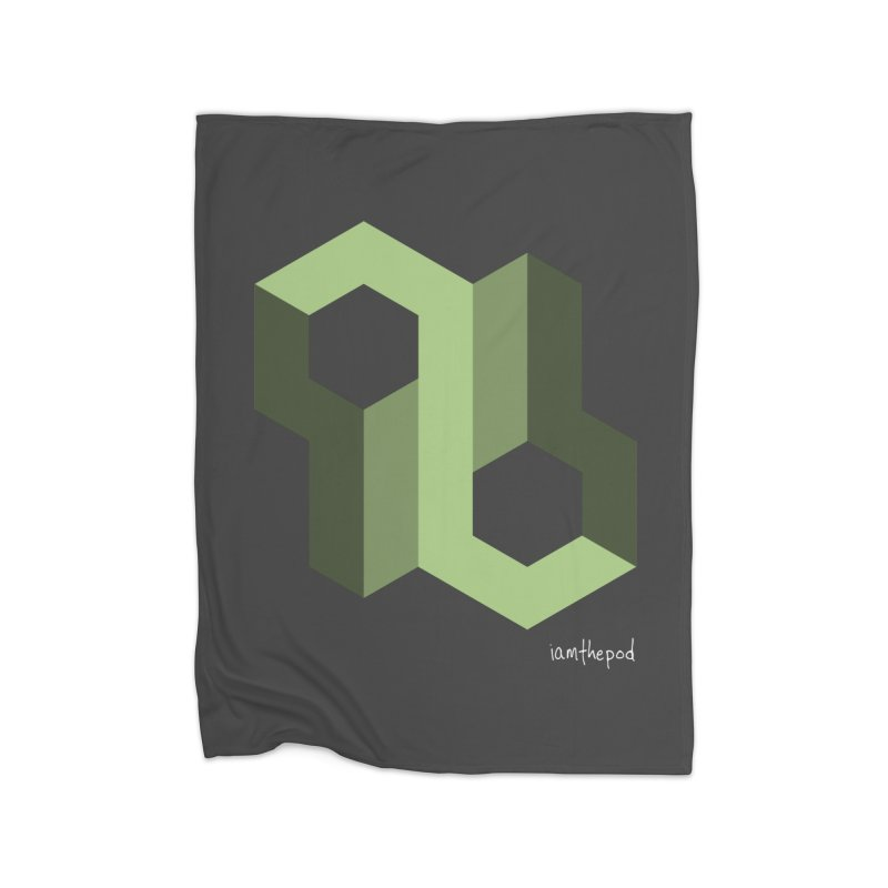 The Loop Home Blanket by iamthepod's Artist Shop