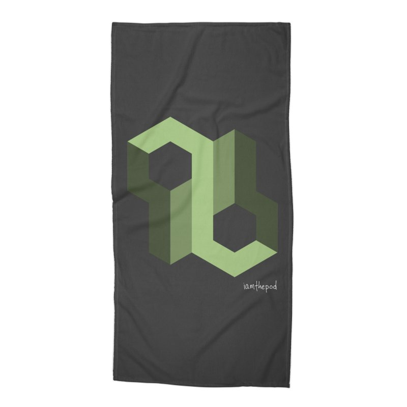 The Loop Accessories Beach Towel by iamthepod's Artist Shop