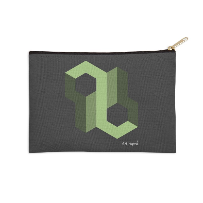 The Loop Accessories Zip Pouch by iamthepod's Artist Shop