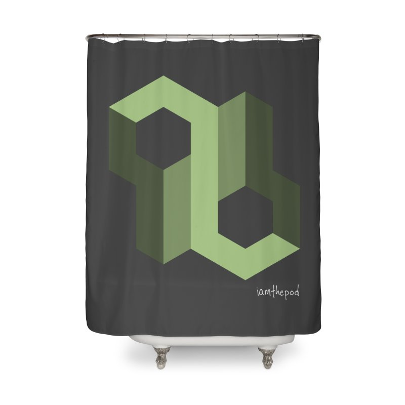 The Loop Home Shower Curtain by iamthepod's Artist Shop