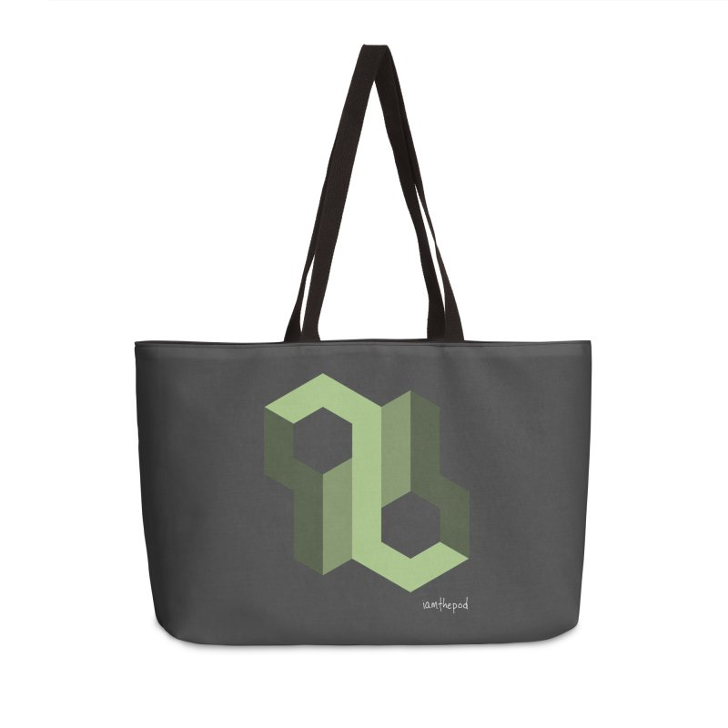 The Loop Accessories Weekender Bag Bag by iamthepod's Artist Shop