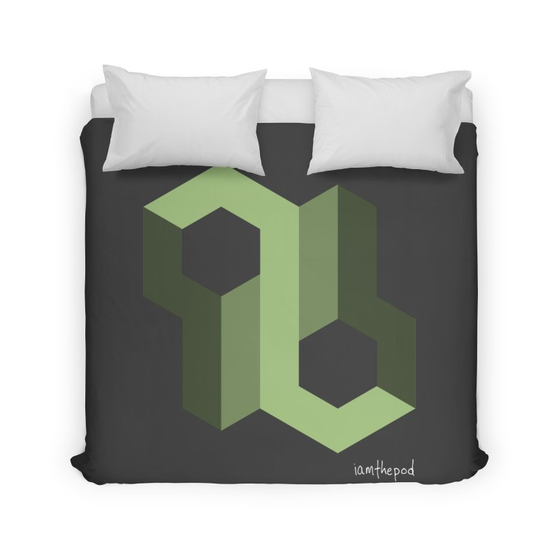 The Loop Home Duvet by iamthepod's Artist Shop