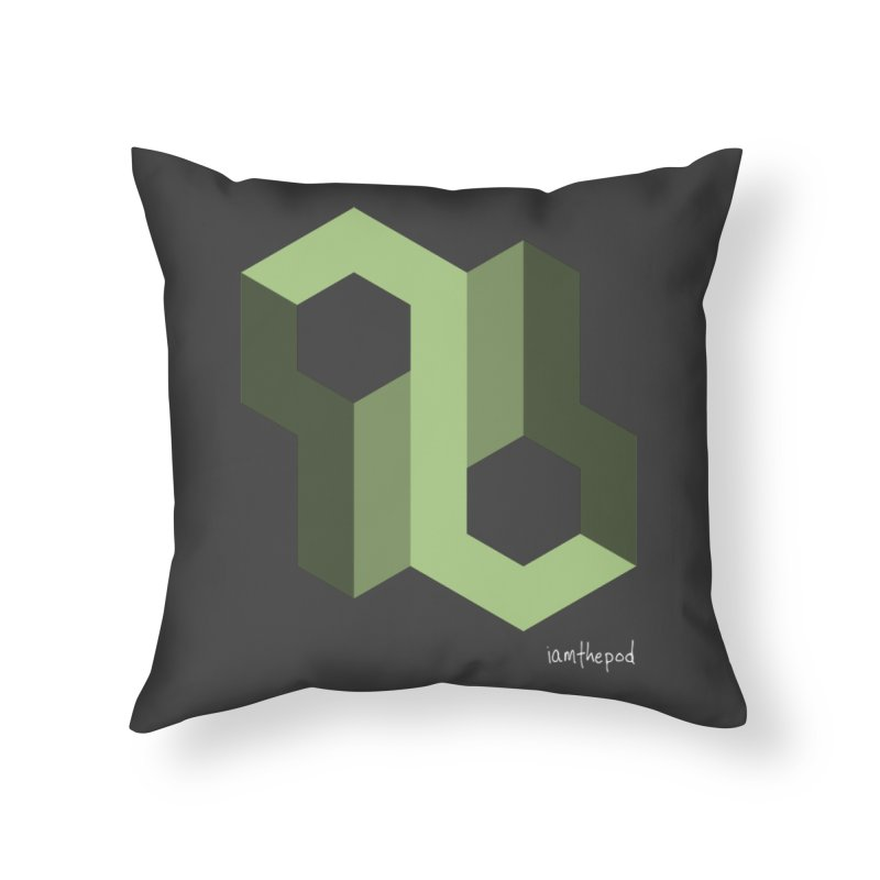The Loop Home Throw Pillow by iamthepod's Artist Shop