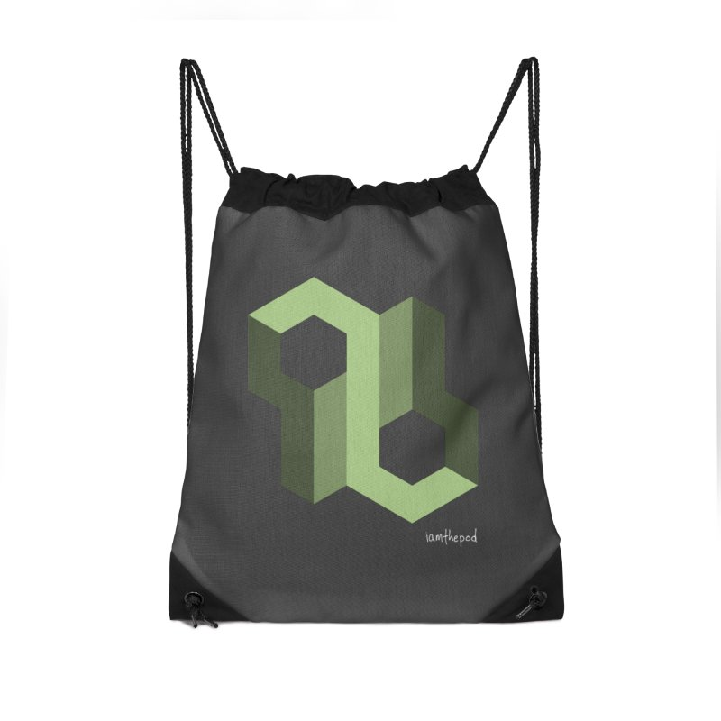 The Loop Accessories Drawstring Bag Bag by iamthepod's Artist Shop