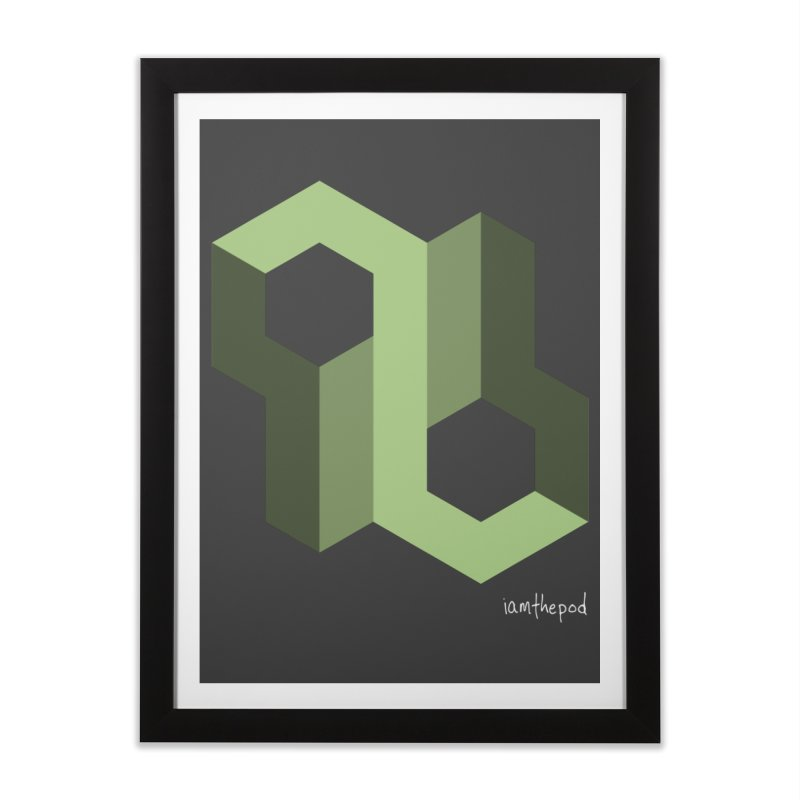The Loop Home Framed Fine Art Print by iamthepod's Artist Shop