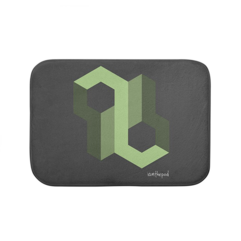 The Loop Home Bath Mat by iamthepod's Artist Shop