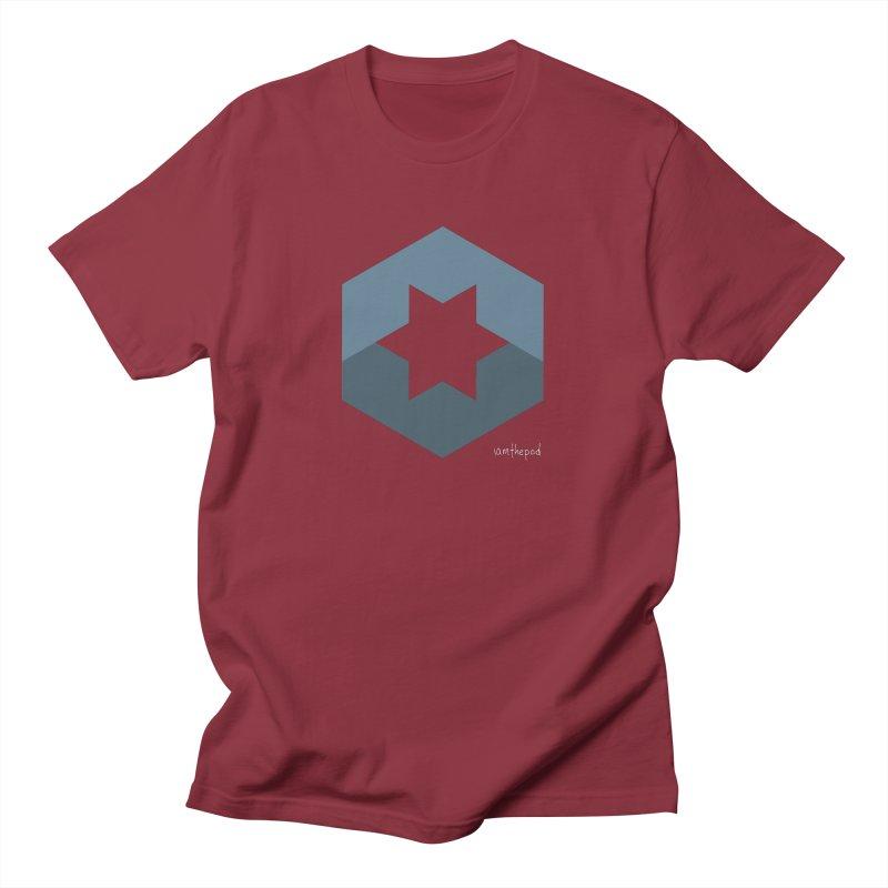 Blue Regime Men's T-Shirt by iamthepod's Artist Shop