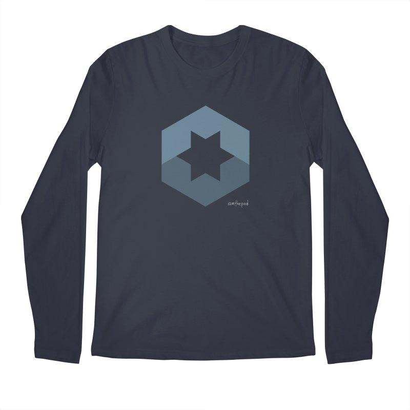 Blue Regime Men's Longsleeve T-Shirt by iamthepod's Artist Shop