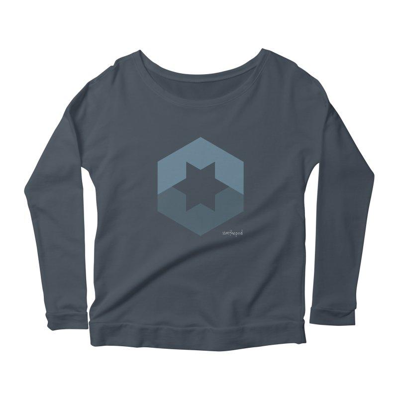 Blue Regime Women's Longsleeve T-Shirt by iamthepod's Artist Shop