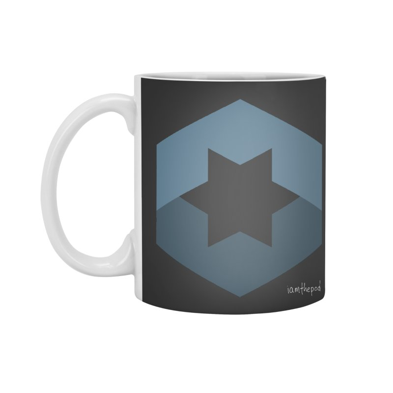 Blue Regime Accessories Standard Mug by iamthepod's Artist Shop