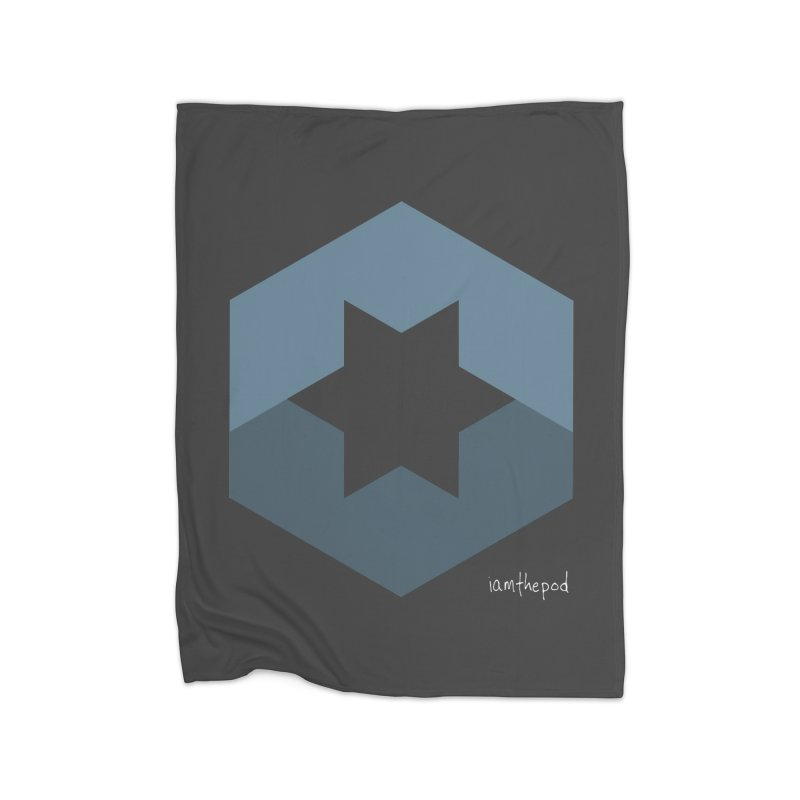 Blue Regime Home Blanket by iamthepod's Artist Shop