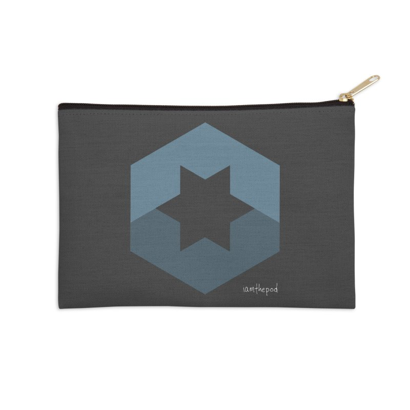 Blue Regime Accessories Zip Pouch by iamthepod's Artist Shop