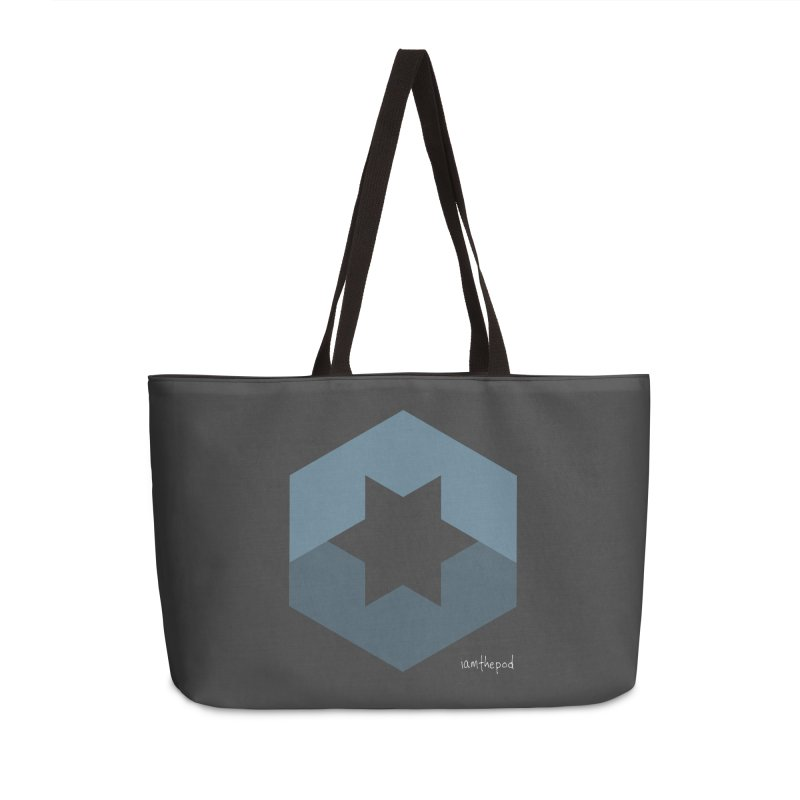 Blue Regime Accessories Weekender Bag Bag by iamthepod's Artist Shop