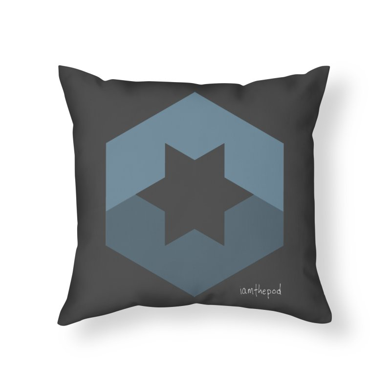 Blue Regime Home Throw Pillow by iamthepod's Artist Shop