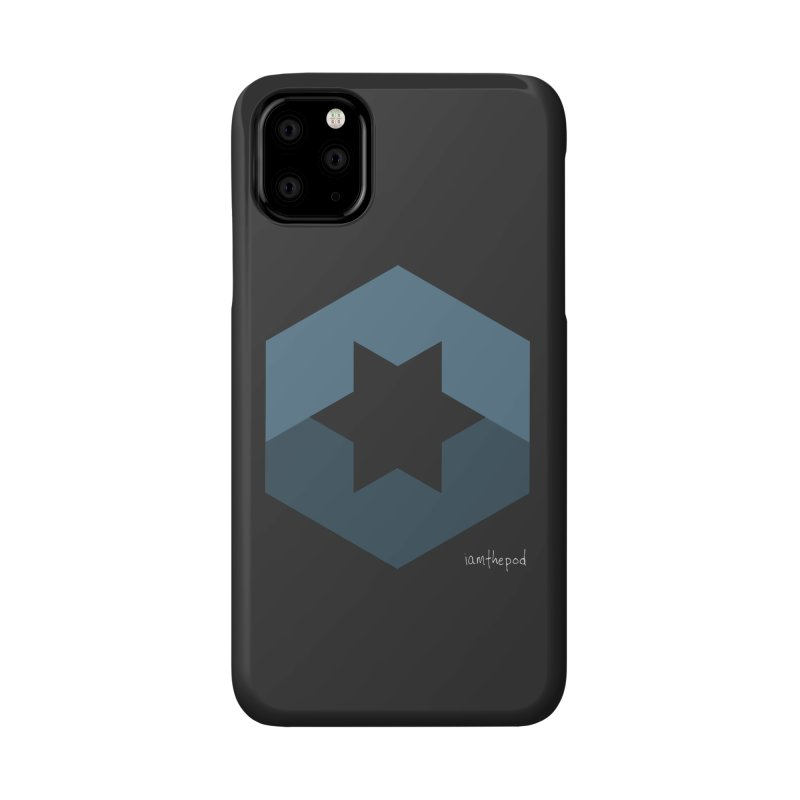 Blue Regime Accessories Phone Case by iamthepod's Artist Shop