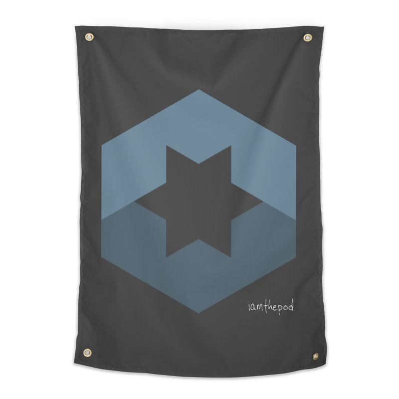 Blue Regime Home Tapestry by iamthepod's Artist Shop
