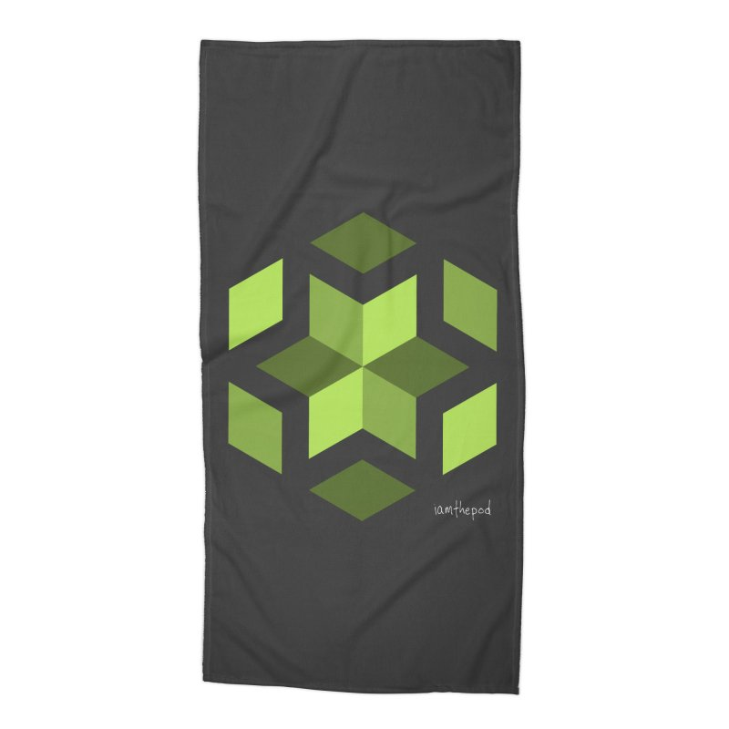 Nuclear Overwatch Accessories Beach Towel by iamthepod's Artist Shop