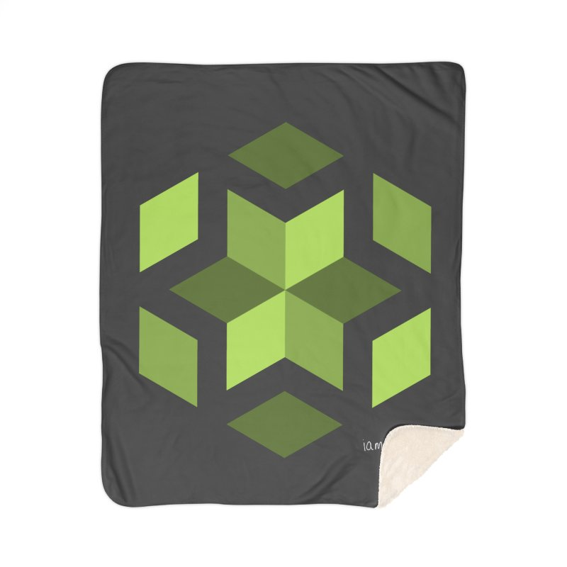 Nuclear Overwatch Home Sherpa Blanket Blanket by iamthepod's Artist Shop