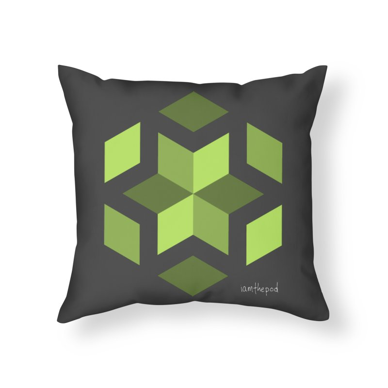 Nuclear Overwatch Home Throw Pillow by iamthepod's Artist Shop