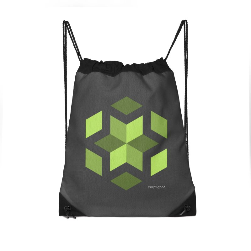 Nuclear Overwatch Accessories Drawstring Bag Bag by iamthepod's Artist Shop