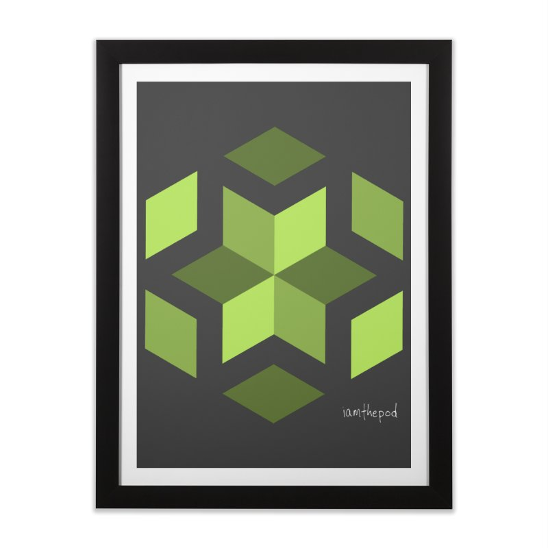 Nuclear Overwatch Home Framed Fine Art Print by iamthepod's Artist Shop