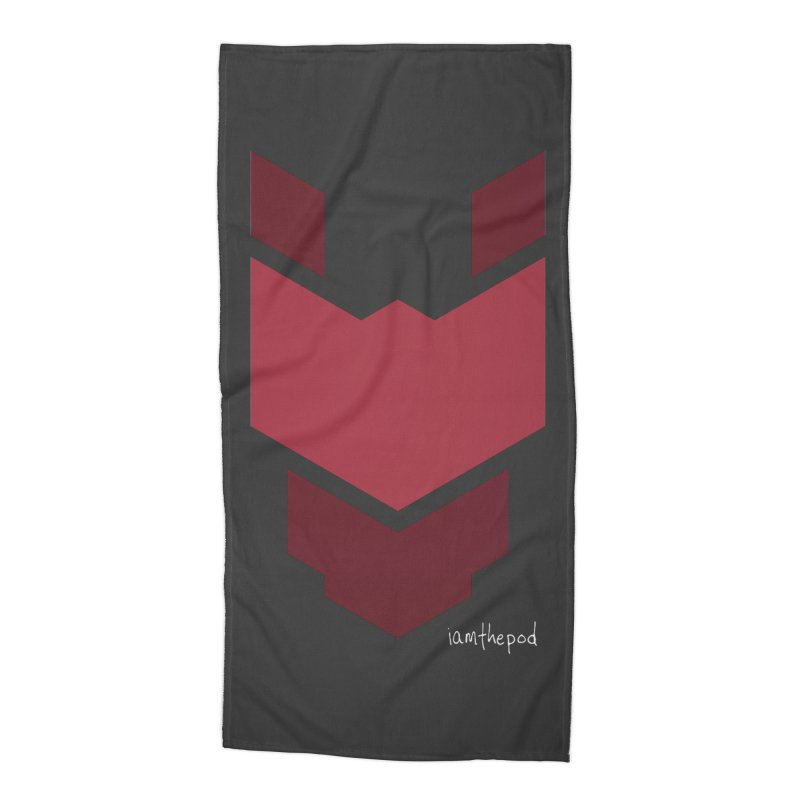 Diablo Corp Accessories Beach Towel by iamthepod's Artist Shop