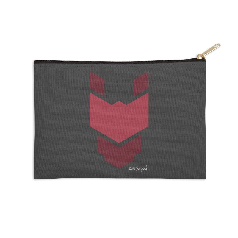 Diablo Corp Accessories Zip Pouch by iamthepod's Artist Shop