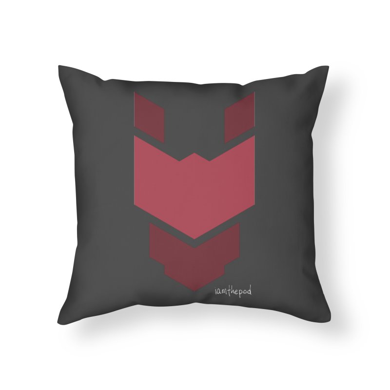 Diablo Corp Home Throw Pillow by iamthepod's Artist Shop