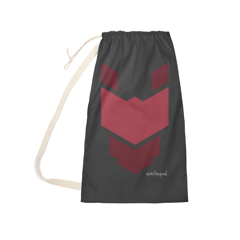 Diablo Corp Accessories Laundry Bag Bag by iamthepod's Artist Shop