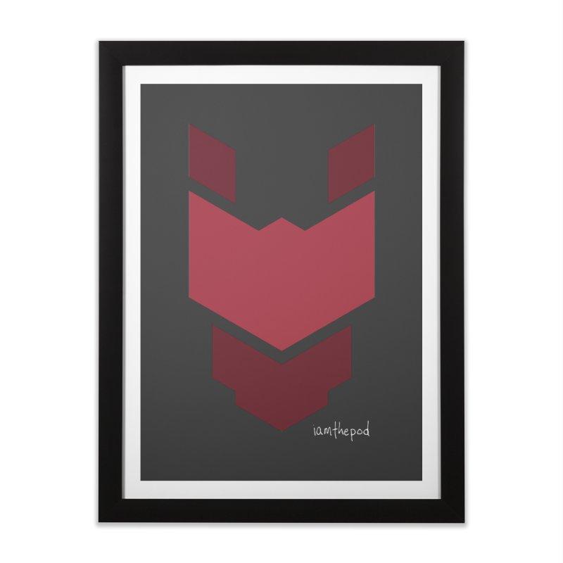 Diablo Corp Home Framed Fine Art Print by iamthepod's Artist Shop