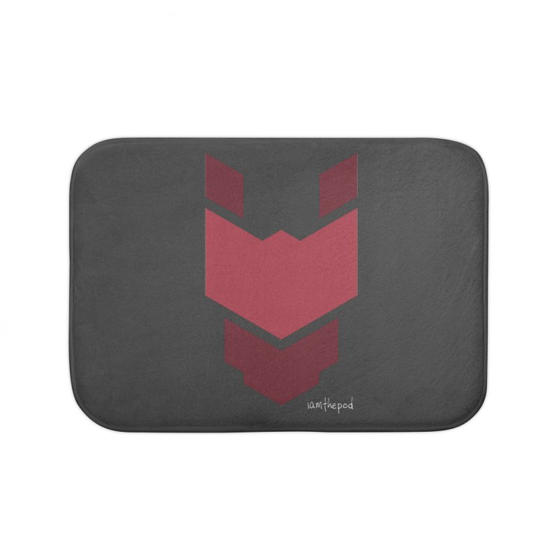 Diablo Corp Home Bath Mat by iamthepod's Artist Shop