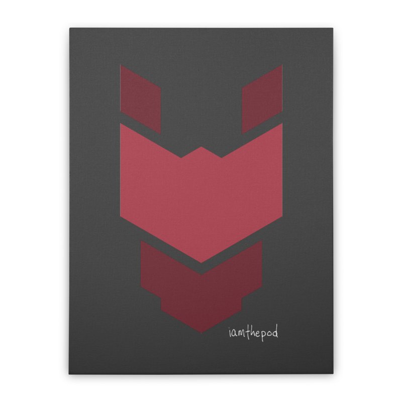 Diablo Corp Home Stretched Canvas by iamthepod's Artist Shop
