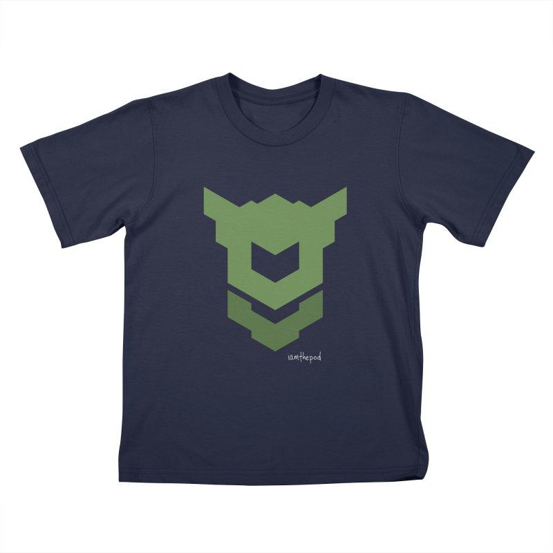 Ground Swell Kids T-Shirt by iamthepod's Artist Shop