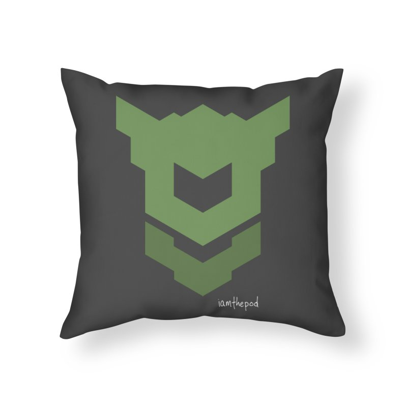 Ground Swell Home Throw Pillow by iamthepod's Artist Shop