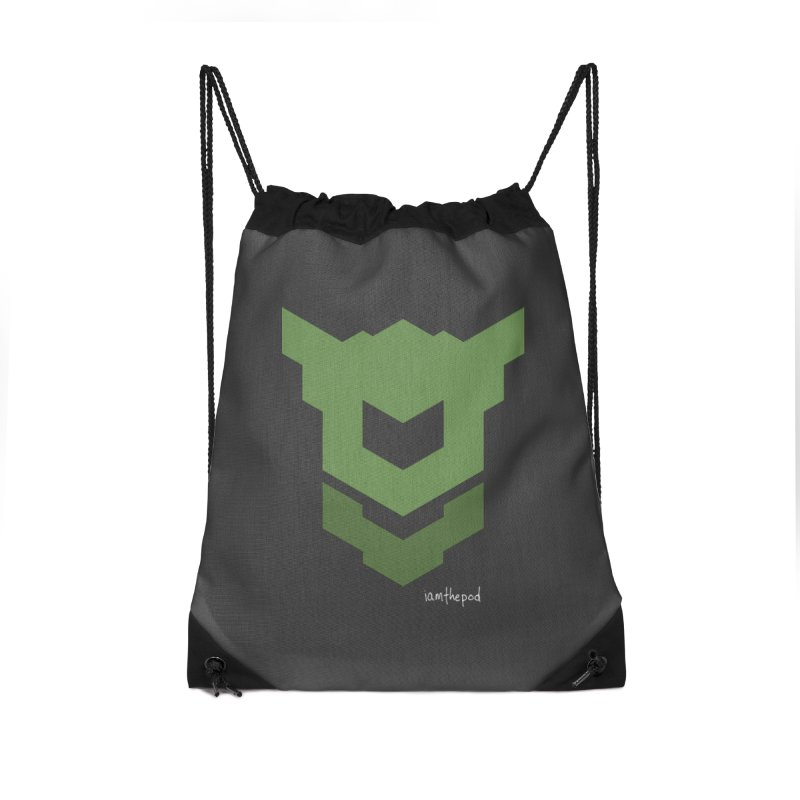 Ground Swell Accessories Drawstring Bag Bag by iamthepod's Artist Shop