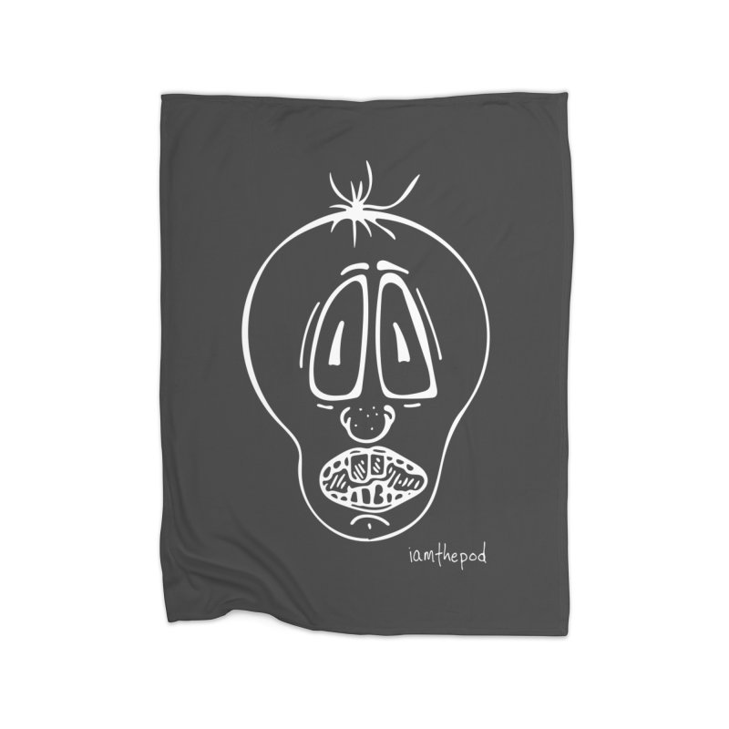 Ugly Face Home Blanket by iamthepod's Artist Shop