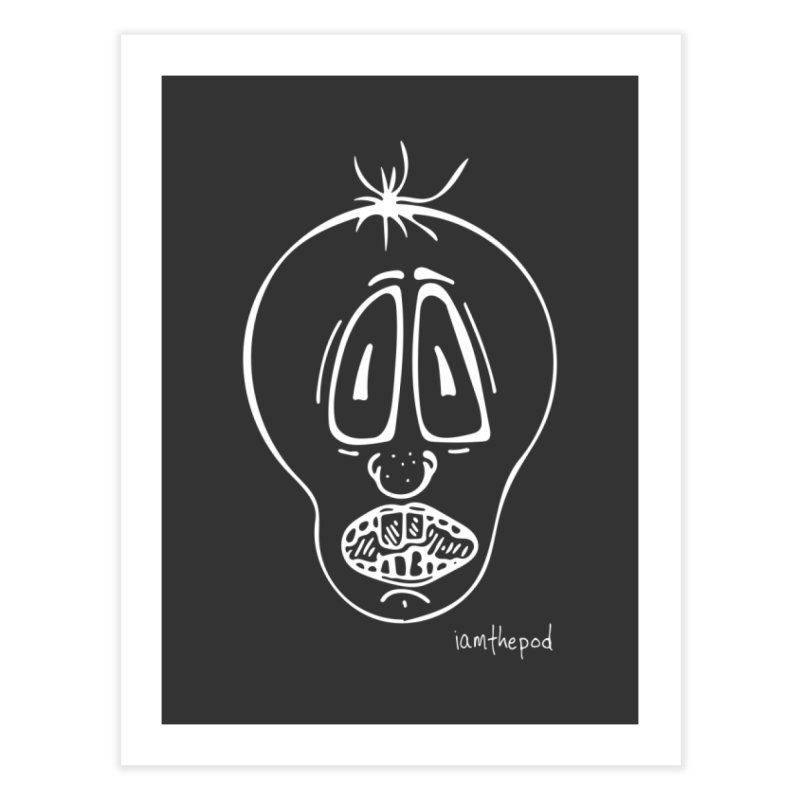 Ugly Face Home Fine Art Print by iamthepod's Artist Shop