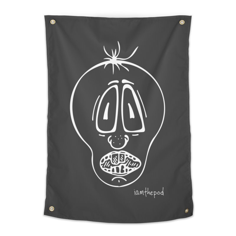 Ugly Face Home Tapestry by iamthepod's Artist Shop