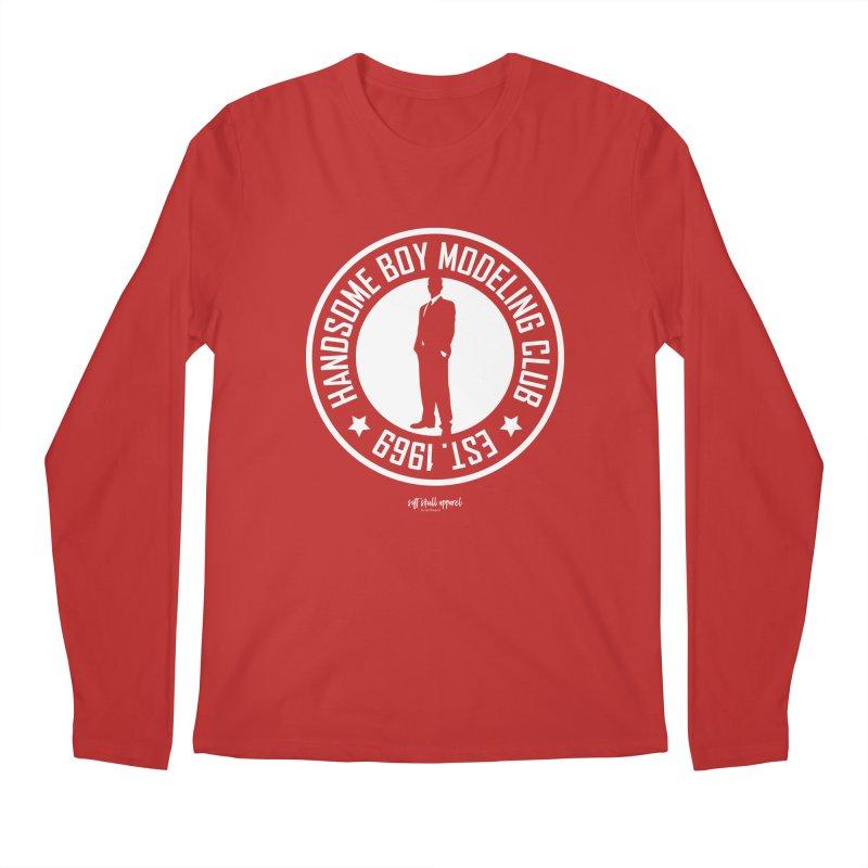 Handsome Boy Modeling Club Men's Longsleeve T-Shirt by iamthepod's Artist Shop