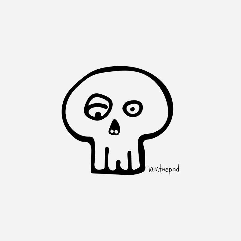 Soft Skull (In Black) by iamthepod's Artist Shop