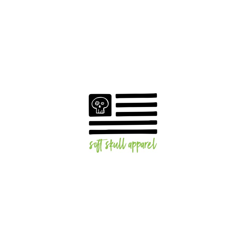 Soft Skull Flag (In Black) by iamthepod's Artist Shop